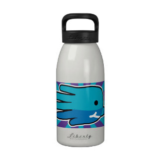 Narwhal Whale Tooth Water Bottle