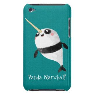 Narwhal y panda en uno iPod Case-Mate carcasas