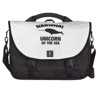 Narwhale Unicorn Of The Sea Laptop Bags