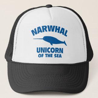 Narwhale Unicorn Of The Sea Trucker Hat