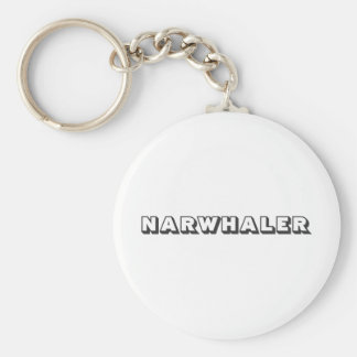 Narwhaler Logo Keychain