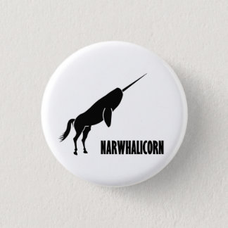 Narwhalicorn Narwhal Unicorn Pinback Button