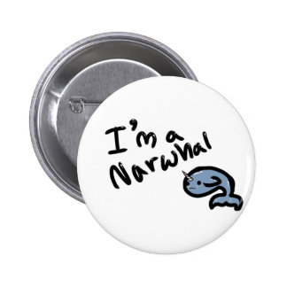 Narwhals :3 button