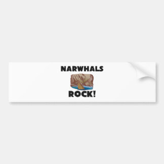 Narwhals Rock Bumper Sticker