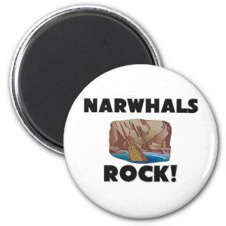 Narwhals Rock Refrigerator Magnets