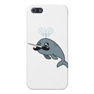 Narwhalstache iPhone 5 Cárcasa