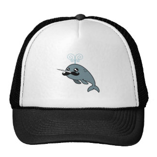 Narwhalstache Trucker Hat