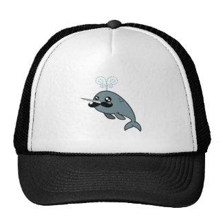 Narwhalstache Trucker Hat