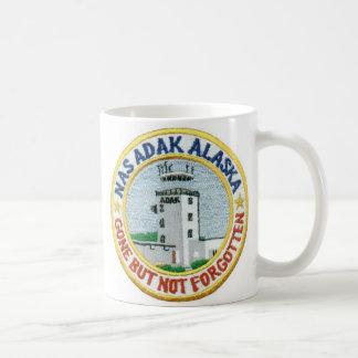 "NAS Adak Coffee Cup ""Gone But Not Forgotten"" White Classic White Coffee Mug"