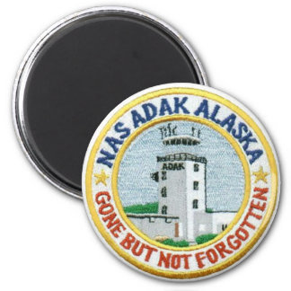 """NAS Adak """"Gone But Not Forgotten"""" Magnet"""
