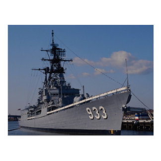 "NAS ""Anacostia"", ""USS Barry"", nave conmemorativa,  Tarjeta Postal"