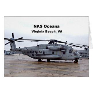 NAS Oceana, Virginia Beach, Virginia Card