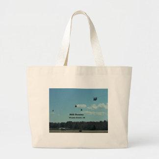 NAS Oceana, Virginia Beach, Virginia Large Tote Bag