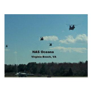 NAS Oceana, Virginia Beach, Virginia Postcard
