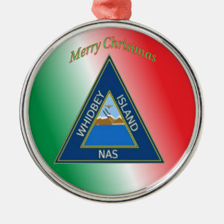NAS Whidbey Island Metal Ornament