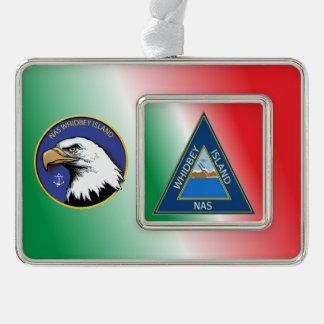NAS Whidbey Island Shields Christmas Ornament