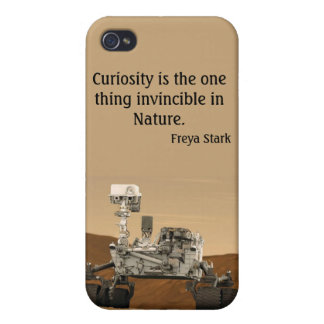 NASA 2012 de Marte Rover de la curiosidad iPhone 4 Funda
