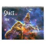 NASA 2014 del calendario de la astronomía de espac