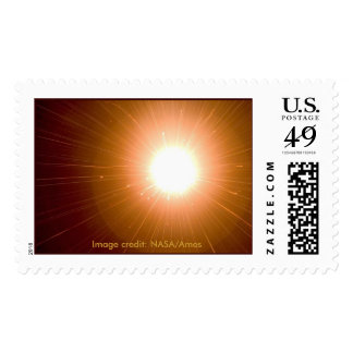 NASA / Ames Research Center Comet Study Postage