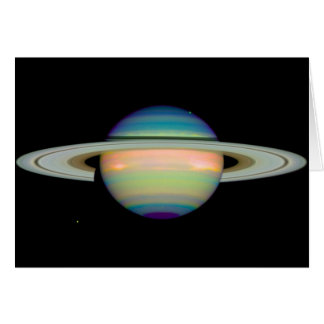 NASA - An Infrared View of Saturn Card