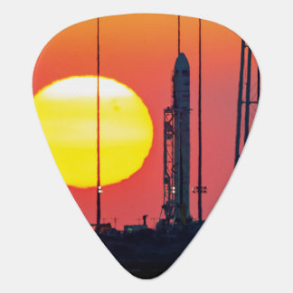 NASA Antares Rocket Sunrise Launch Guitar Pick