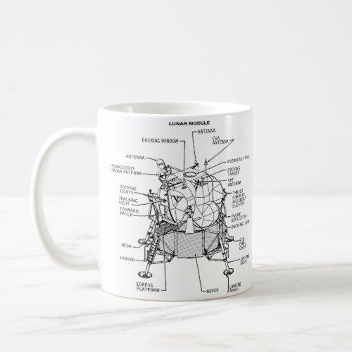 NASA Apollo 11 Lunar Lander Module Coffee Mug