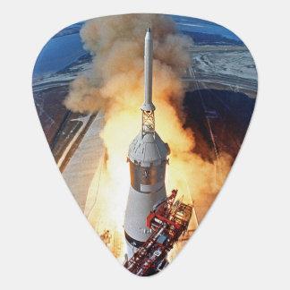 NASA Apollo 11 Moon Landing Rocket Launch Guitar Pick