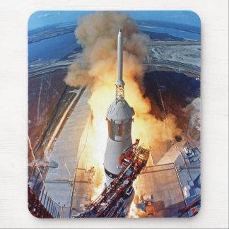 NASA Apollo 11 Moon Landing Rocket Launch Mouse Pad