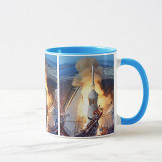 NASA Apollo 11 Moon Landing Rocket Launch Mug