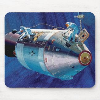 NASA Apollo 15 Command Service Module Artwork Mouse Pad