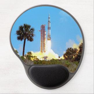 NASA Apollo 16 Saturn V Rocket Launch Gel Mouse Pad