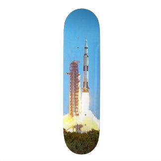 NASA Apollo 16 Saturn V Rocket Launch Skateboard