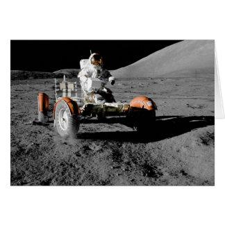 NASA Apollo 17 Lunar Roving Vehicle Card