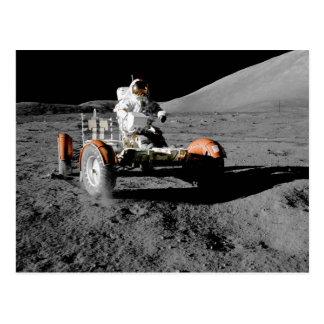 NASA Apollo 17 Lunar Roving Vehicle Postcard