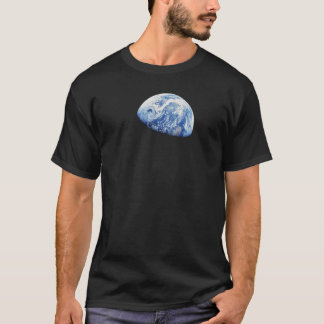 NASA Apollo 8 Earthrise Moon Lunar Orbit Photo T-Shirt