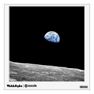NASA Apollo 8 Earthrise Moon Lunar Orbit Photo Wall Decal