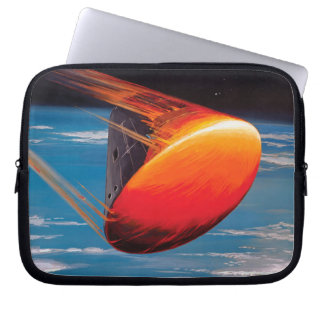 NASA Apollo Command Module Space Capsule Artwork Laptop Sleeve