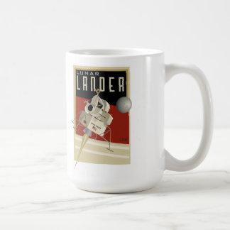NASA Apollo lunar lander LEM Classic White Coffee Mug