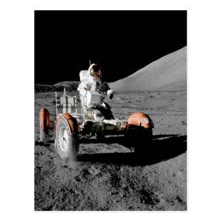 NASA Apollo seventeen Lunar Roving Vehicle Postcard