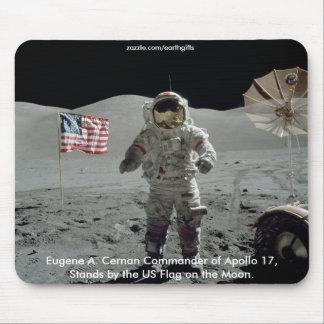 NASA & APOLLO SPACE ASTRONAUT MOUSE PAD