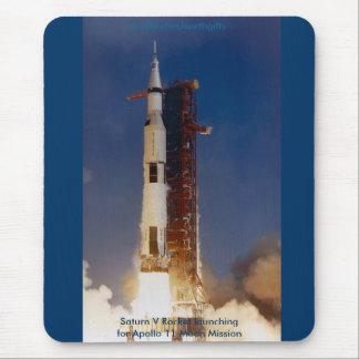 NASA & APOLLO SPACE MOUSE PAD