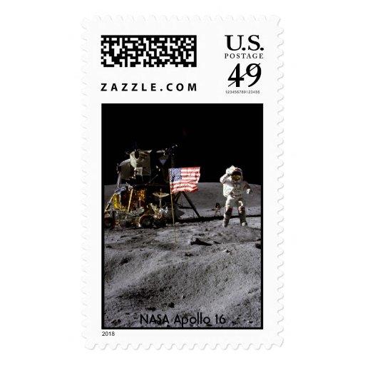 NASA Apolo 16 Sellos