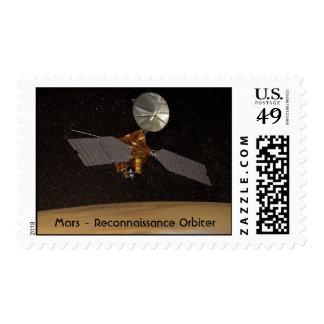 NASA  - Art - Mars Reconnaissance Orbitor Postage