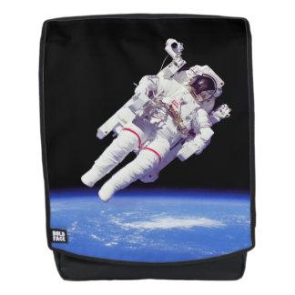 NASA Astronaut Jetpack Spacewalk Earth Orbit Photo Backpack