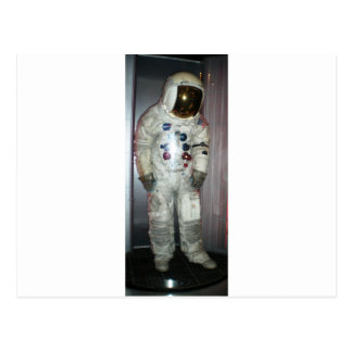 NASA Astronaut Space Suit Postcard
