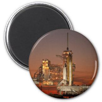 NASA Atlantis Space Shuttle launch Magnet