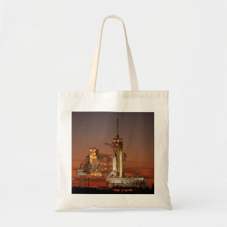 NASA Atlantis Space Shuttle launch Tote Bag