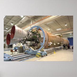 NASA Atlas V Rocket Poster