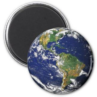 Nasa blue marble earth magnet