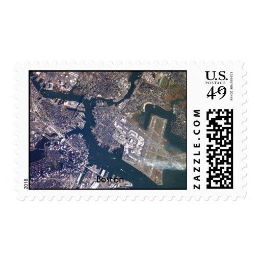 NASA Boston Postage